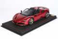 ** 予約商品 ** BBR P18194DV 1/18 Ferrari SF90 Spider Rosso Fiorano Limited 100pcs (ケース付)