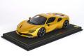 ** 予約商品 ** BBR P18196A1V 1/18 Ferrari SF90 Spider (closed roof) Giallo Montecarlo Limited 24pcs (ルーフ同色)(ケース付)