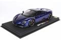 ** 予約商品 ** BBR P18196BV 1/18 Ferrari SF90 Spider (closed roof) Met Blu Elettrico Limited 50pcs (ブラックルーフ)(ケース付)