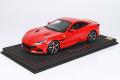 ** 予約商品 ** BBR P18197BV 1/18 Ferrari Portofino M (Closed roof) Rosso Corsa (ケース付)