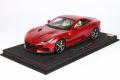 ** 予約商品 ** BBR P18197DV 1/18 Ferrari Portofino M (Closed roof) Rosso Fiorano (ケース付)