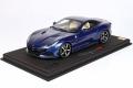 ** 予約商品 ** BBR P18197EV 1/18 Ferrari Portofino M (Closed roof) Blu Abu Dhabi (ケース付)