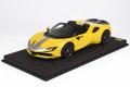 ** 予約商品 ** BBR P18198EV 1/18 Ferrari SF90 Spider Pack Fiorano Giallo Modena Limited 24pcs (ケース付)