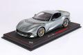** 予約商品 ** BBR P18207A2V 1/18 Ferrari 812 Competizione 2021 Coburn Grey /Horizontal Racing Giallo Fly Strip (ケース付)