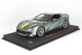 ** 予約商品 ** BBR P18207AV 1/18 Ferrari 812 Competizione 2021 Coburn Grey /Racing Giallo Fly Strip (ケース付)