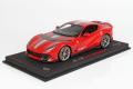** 予約商品 ** BBR P18207B1V 1/18 Ferrari 812 Competizione 2021 Rosso Corsa /Racing Silver Nurburgring Strip (ケース付)