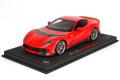 ** 予約商品 ** BBR P18207B2V 1/18 Ferrari 812 Competizione 2021 Rosso Corsa /Horizontal Racing Giallo Fly Strip (ケース付)