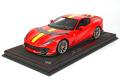 ** 予約商品 ** BBR P18207BV 1/18 Ferrari 812 Competizione 2021 Rosso Corsa /Racing Giallo Fly Strip (ケース付)