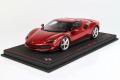 ** 予約商品 ** BBR P18210BV 1/18 Ferrari 296GTB Rosso Imola (ケース付)