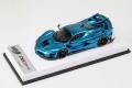 BBR RACE43-79 Ferrari FXX K Evo Chrome Blue (White leather Base) Limited 10pcs