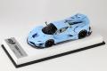 BBR RACE43-81 Ferrari FXX K Evo Azzurro La Pista (White leather Base) Limited 10pcs