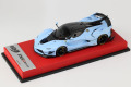 BBR RACE43-82 Ferrari FXX K Evo Azzurro La Pista /Carbon roof (Red leather Base) Limited 10pcs