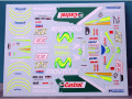 RENAISSANCE MTK12/009DS 1/12 Honda RC211V 2005 Team Gresini Melandri / Gibernau Decal 【メール便可】