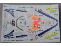 RENAISSANCE MTK12/021DS 1/12 Honda NSR 500 2001 Test Rossi Decal 【メール便可】