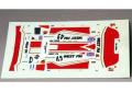 RENAISSANCE DU025C 1/43 McLaren F1-GTR West Competition Le Mans 1995 スペアデカール 【メール便可】