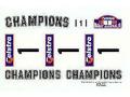 RENAISSANCE TK24/050 1/24 ミツビシ Lancer EV.6 Gr.A Champion オーストラリア99 デカール for Tamiya 【メール便可】