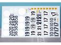 RENAISSANCE TK24/272 1/24 フェラーリ 250 TR57 LM58/59 customers cars デカール for Hasegawa 【メール便可】