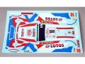 RENAISSANCE TK24/400 1/24 フォード Fiesta WRC Kubica MC 2014 デカール 【メール便可】