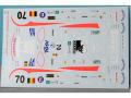 RENAISSANCE TK25/002 1/25 コルベット C6R #70 PSI LM 2007デカール 【メール便可】