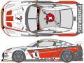 SHUNKO D107 1/24 スイス GT-R 2010 デカールセット【メール便可】