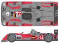 SHUNKO D108 1/24 アウディ R10 TDI Le Mans 2010 デカールセット【メール便可】