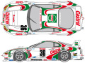 SHUNKO D118 1/24 Castrol Supra 1995 decal set (for Tamiya) 【メール便可】