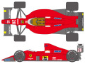 ** 予約商品 ** SHUNKO D223 1/20 Ferrari F189 1989 decal set (for Tamiya) 【メール便可】