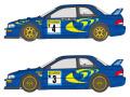 SHUNKO D239 1/24 Subaru Impreza 555 1997-98 Montecarlo decal set (for Tamiya) 【メール便可】