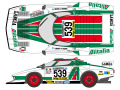 SHUNKO D257 1/24 Lancia Stratos Turbo Alitalia 1977 decal set (for Tamiya) 【メール便可】