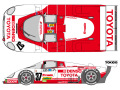 SHUNKO D352 1/24 Toyota Denso 87C 1987 LM decal set (for Hasegawa)