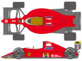 SHUNKO D356 1/20 Ferrari 641/2 1990 France GP decal set(for Fujimi)