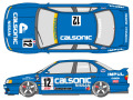 SHUNKO D357 1/24 Nissan Calsonic Primera 1994 decal set (for Tamiya) 【メール便可】