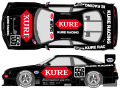SHUNKO D359 1/24 Nissan Kure Skyline GT-R R33 1996 decal set (for Tamiya) 【メール便可】