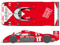 SHUNKO D362 1/24 Toyota TS020 1999 decal set (for Tamiya) 【メール便可】