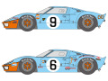 SHUNKO D369 1/24 Ford GT40 Gulf 1968-69 LM decal set (for Fujimi) 【メール便可】