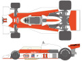 SHUNKO D374 1/20 McLaren M23 1976 decal set (for Tamiya) 【メール便可】