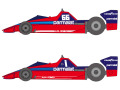 SHUNKO D379 1/20 Brabham BT46 1978-79 decal set (for Tamiya) 【メール便可】