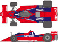 SHUNKO D380 1/20 Brabham BT46B 1978 Sweden GP decal set (for Fujimi) 【メール便可】