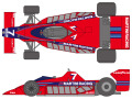 SHUNKO D381 1/20 Brabham BT46 Prototype decal set (for Fujimi) 【メール便可】