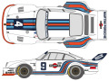 SHUNKO D384 1/24 Porsche 935 Martini 1976 Early ver. decal set (for Tamiya) 【メール便可】