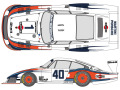 SHUNKO D385 1/24 Porsche 935/78 Mobby Dick 1978 decal set (for Tamiya) 【メール便可】