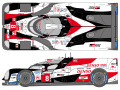 SHUNKO D387 1/24 Toyota TS050 2019 Spa/LM decal set (for Tamiya) 【メール便可】