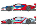 SHUNKO D389 1/24 Ford GT Team USA 2019 LM decal set (for Revell) 【メール便可】