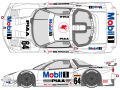 SHUNKO D391 1/24 Mobil1 NSX 1998 decal set (for Tamiya) 【メール便可】