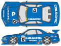 SHUNKO D395 1/24 CALSONIC GT-R R34 1999 decal set (for Tamiya) 【メール便可】