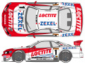 SHUNKO D396 1/24 LOCTITE GT-R R34 2000 decal set (for Tamiya) 【メール便可】