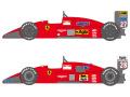 SHUNKO D398 1/20 Ferrari F187 & F187/88C decal set (for Fujimi) 【メール便可】