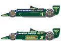 SHUNKO D412 1/20 Lotus 79 Martini 1979 Early ver. decal set (for Tamiya) 【メール便可】