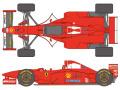 SHUNKO D415 1/20 Ferrari F310B 1997 Canada / Japane GP decal set (for Tamiya) 【メール便可】