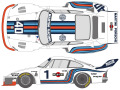 ** 予約商品 ** SHUNKO D418 1/20 Porsche 935 1976 LM/Dijion decal set (for Tamiya) 【メール便可】